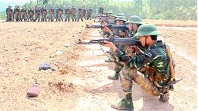 Huấn luyện chiến sĩ mới tại Sư đoàn 3 (Quân khu 1): Xây dựng nền nếp chính quy, rèn kỷ luật