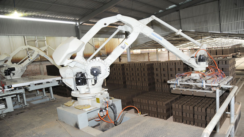 New technology applied in brick production