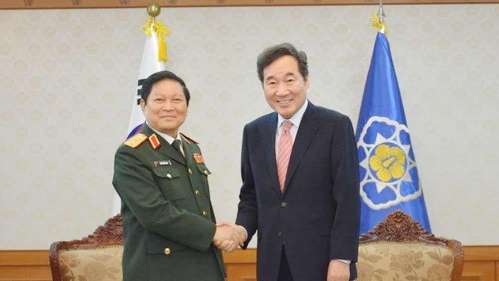 Vietnam, RoK sign joint vision statement on defence cooperation