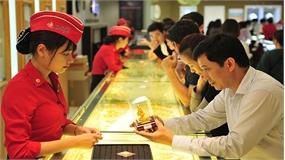 Giá vàng SJC và Bảo Tín Minh Châu tiếp tục giảm nhẹ 40.000 đồng