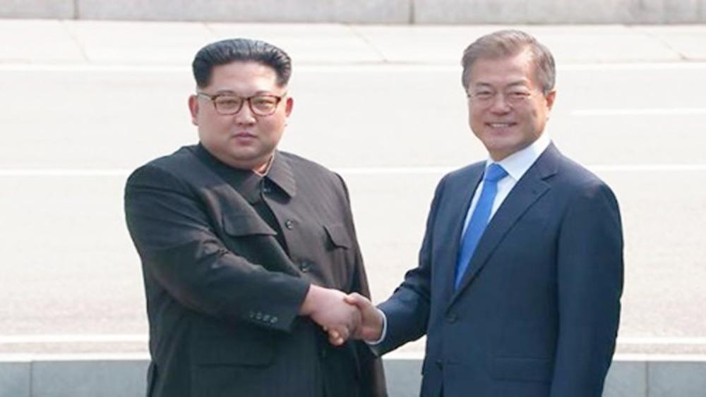 Nhà lãnh đạo Triều Tiên Kim Jong-un nhận lời mời thăm Hàn Quốc