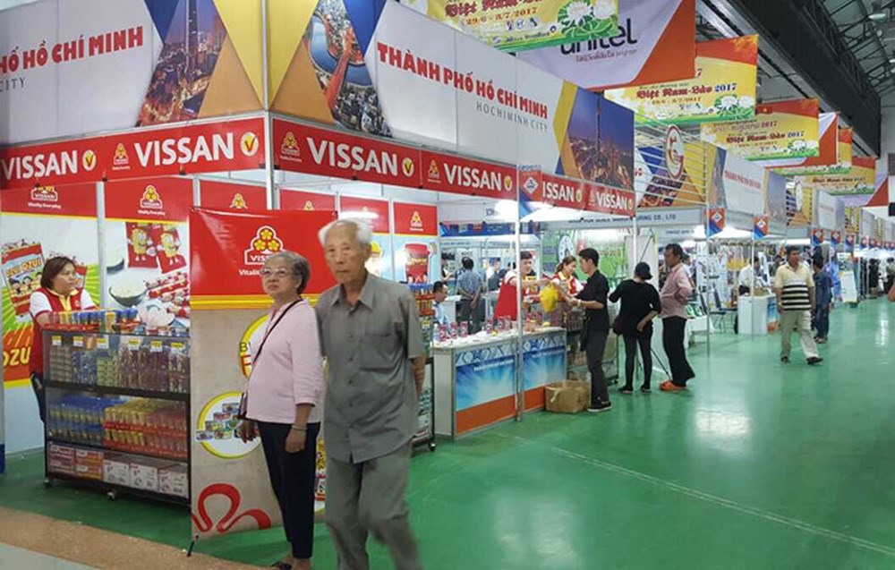 Ho Chi Minh City, trade fair, Vietnamese goods, Vietnamese Enterprises, Vietnamese Brands, famous brands,new products, Trade promotion activities, business opportunities