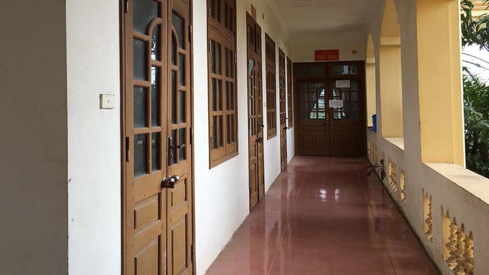 Lãnh đạo xã Nam Dương bị Chủ tịch UBND huyện phê bình vì đóng cửa nghỉ lễ... sớm