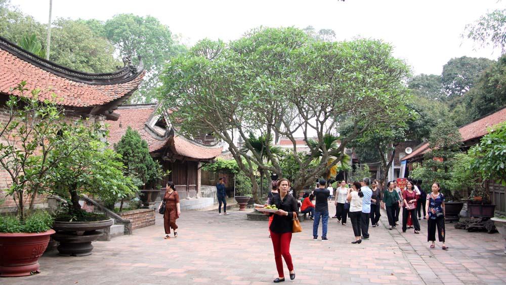 Bắc Giang: Du khách đến các điểm du lịch tăng cao