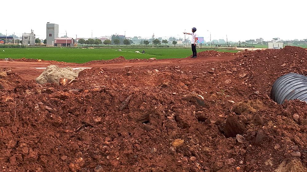 Bồi thường thu hồi đất tại xã Tân Hưng (Lạng Giang): Khiếu kiện vì cán bộ tắc trách