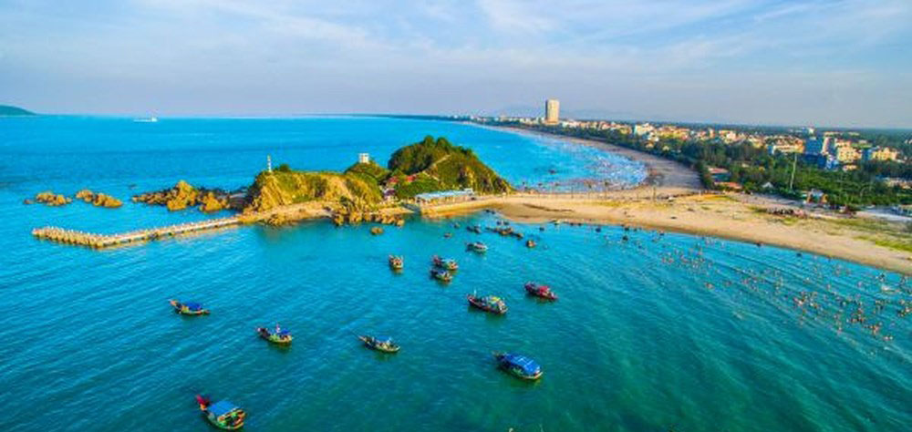 Cua Lo, tourism festival, kicks off, Nghe An province, tourism season, most beautiful beaches, beautiful surrounding landscapes