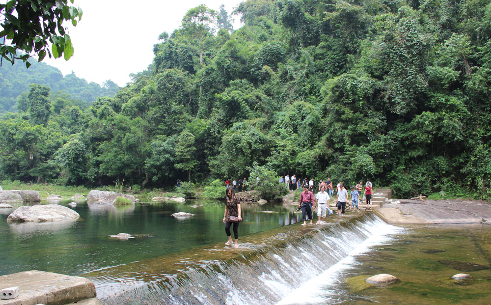 Visitors, Bac Giang province, popular tourist destinations, national holidays, Attractive destinations, environmental protection, ecological tourism site, favourable conditions, demand of visitors