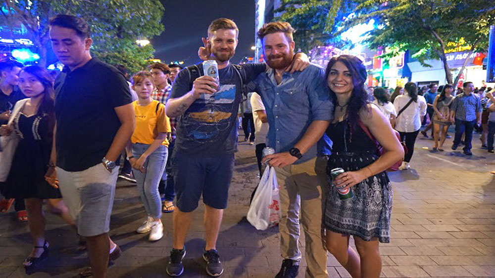 Foreign tourist arrivals skyrocket in Vietnam
