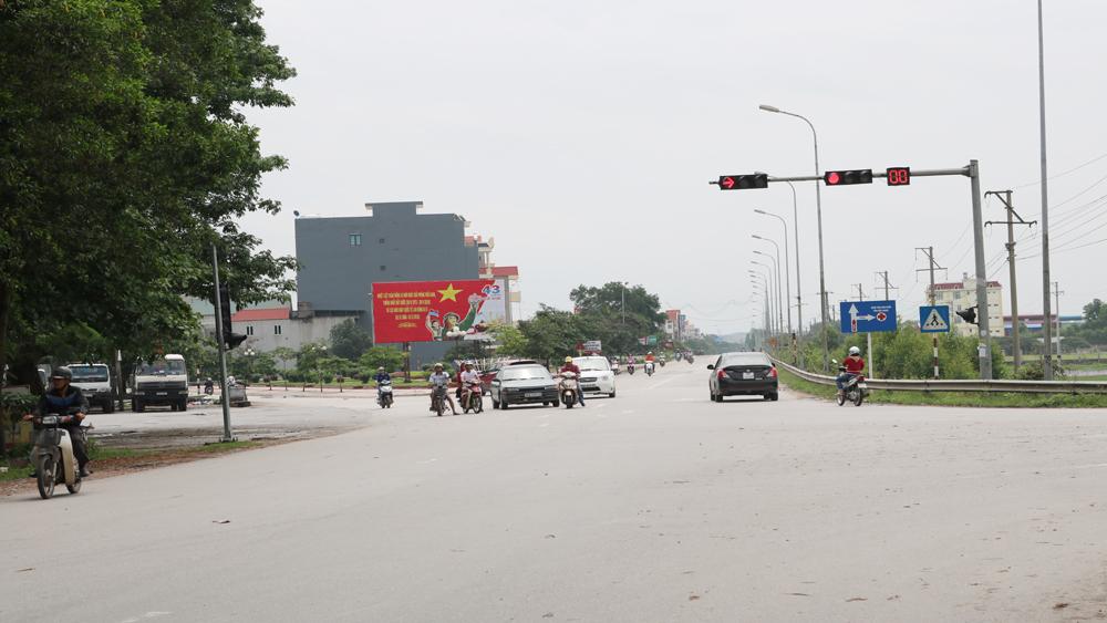 Lập dự án, lắp đặt, cải tạo, hệ thống, đèn tín hiệu, giao thông, TP Bắc Giang