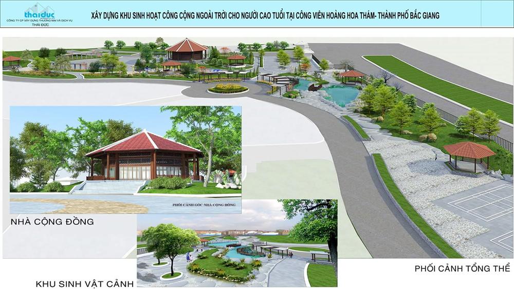 TP Bắc Giang: Xây dựng khu vui chơi dành cho người cao tuổi