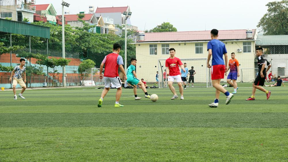 Sức hút của sân bóng đá mini