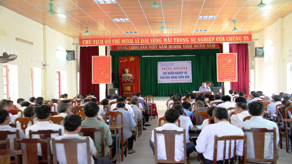 Việt Yên, tập huấn, đời sống, văn hóa