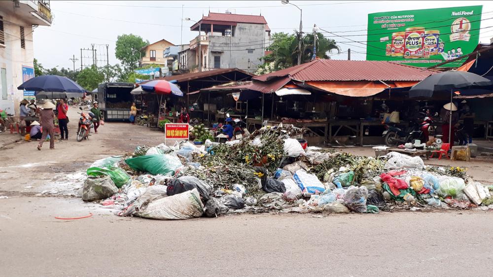 Thị trấn Cao Thượng: Tái diễn rác thải tồn lưu