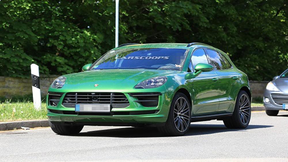 Porsche Macan 2019 lộ diện trên đường chạy thử