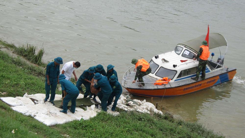 Triển khai công tác phòng, chống thiên tai và tìm kiếm cứu nạn năm 2018