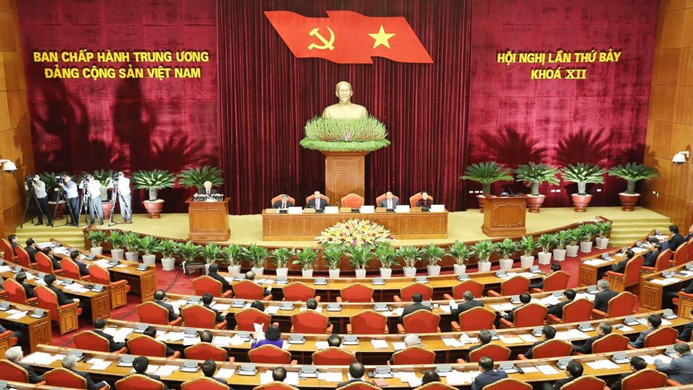 Khai mạc Hội nghị lần thứ bảy, Ban Chấp hành T.Ư Đảng khóa XII