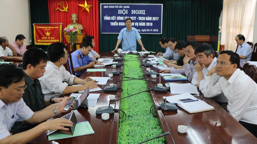 TP Bắc Giang,  công tác, phòng, chống thiên tai,  tìm kiếm, cứu nạn, năm 2018