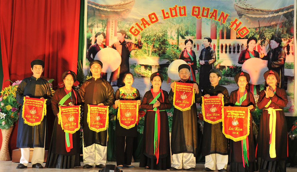 Việt yên, giao lưu, quan họ