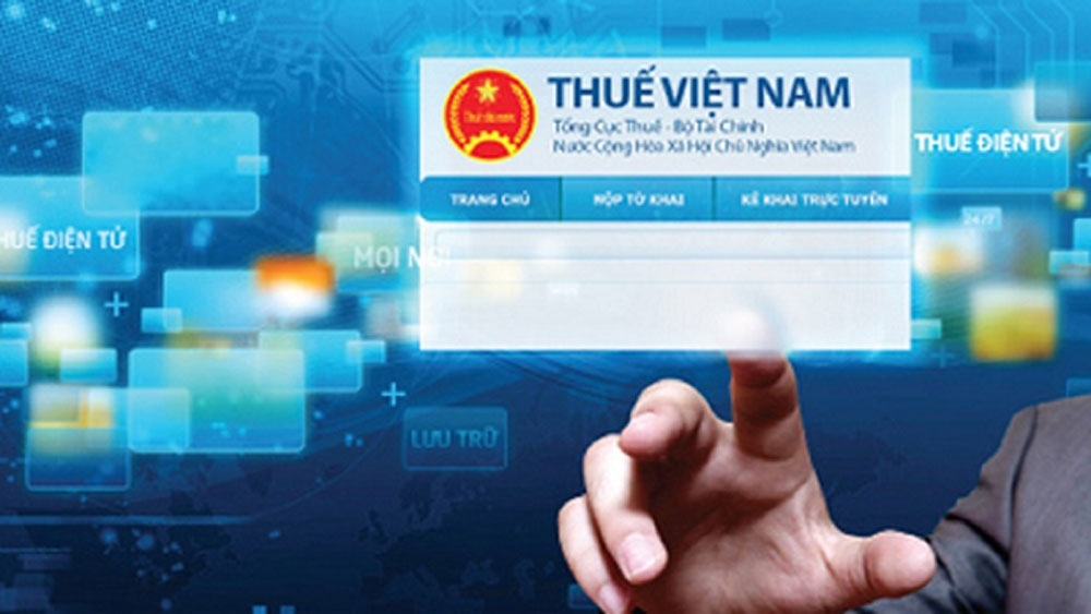 Electronic tax system applied in Bac Giang
