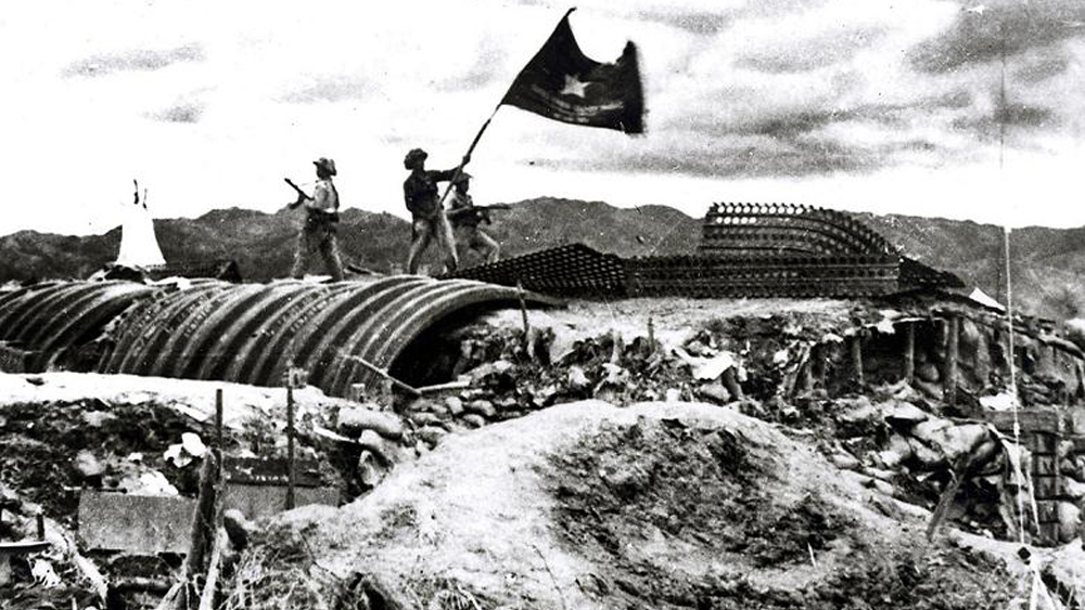 Bac Giang army, army and people, Dien Bien Phu Victory, Bac Giang province, French colonialists, numerous contributions, majesty combats, strong mind