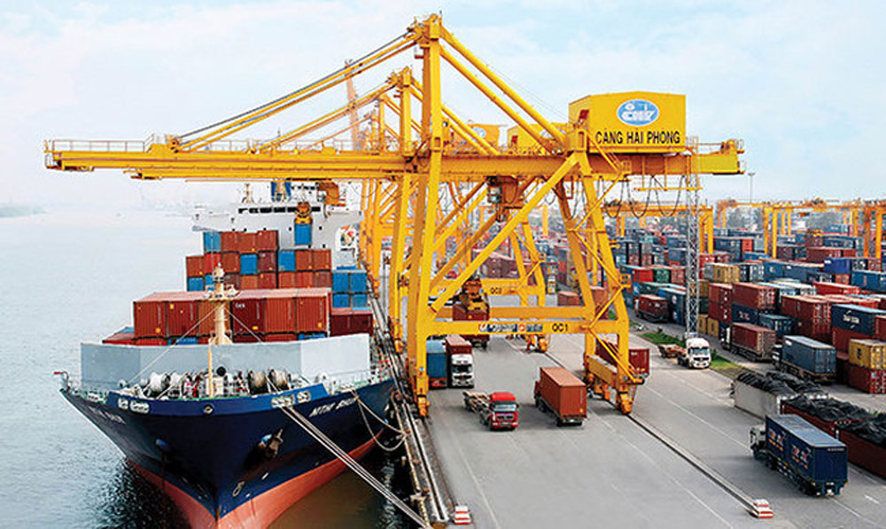 New deep-sea port, logistics capacity, Vietnam, new terminal, biggest port, Hai Phong city, major sea gateway, large container ships, key role