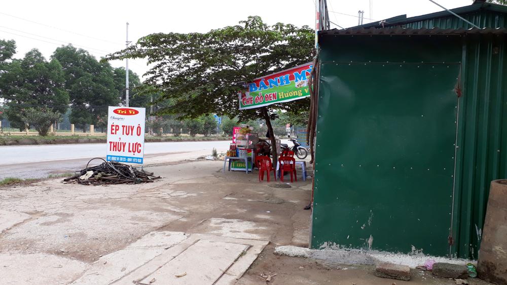 Xã Tiền Phong (Yên Dũng): Hàng chục ki-ốt xây trái phép chưa được giải tỏa