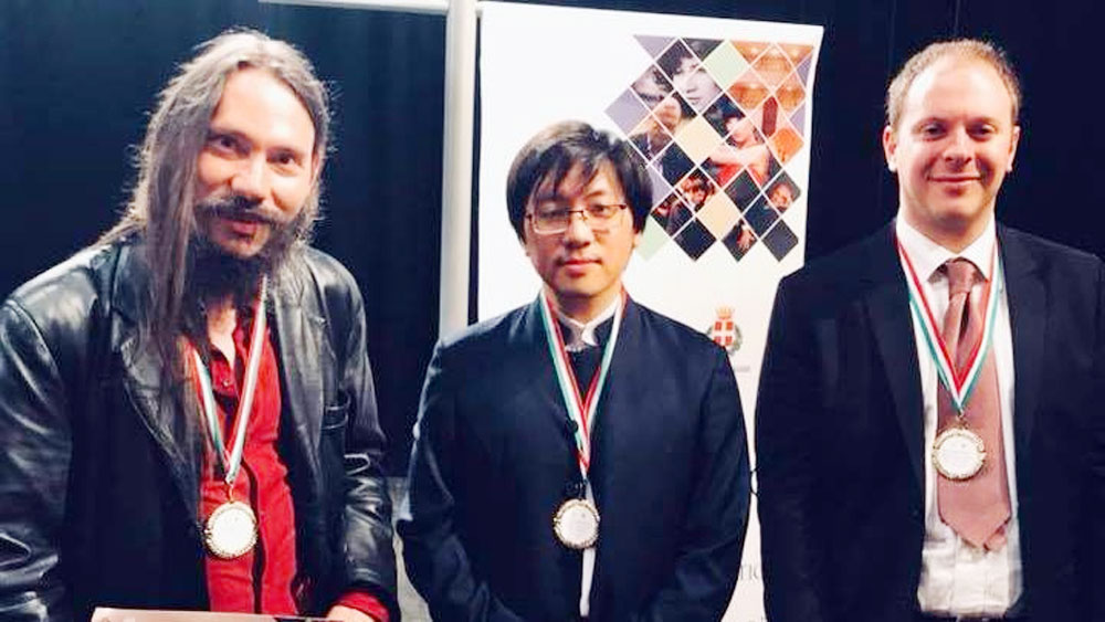Pianist Luu Hong Quang claims second at competition in Italy
