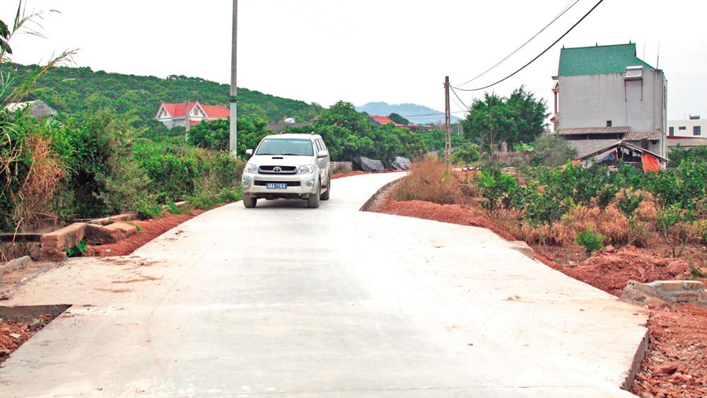Thực hiện Nghị quyết 07 của HĐND tỉnh: Đổi thay diện mạo nông thôn