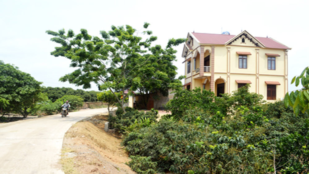 Typical cultural villages built in Bac Giang