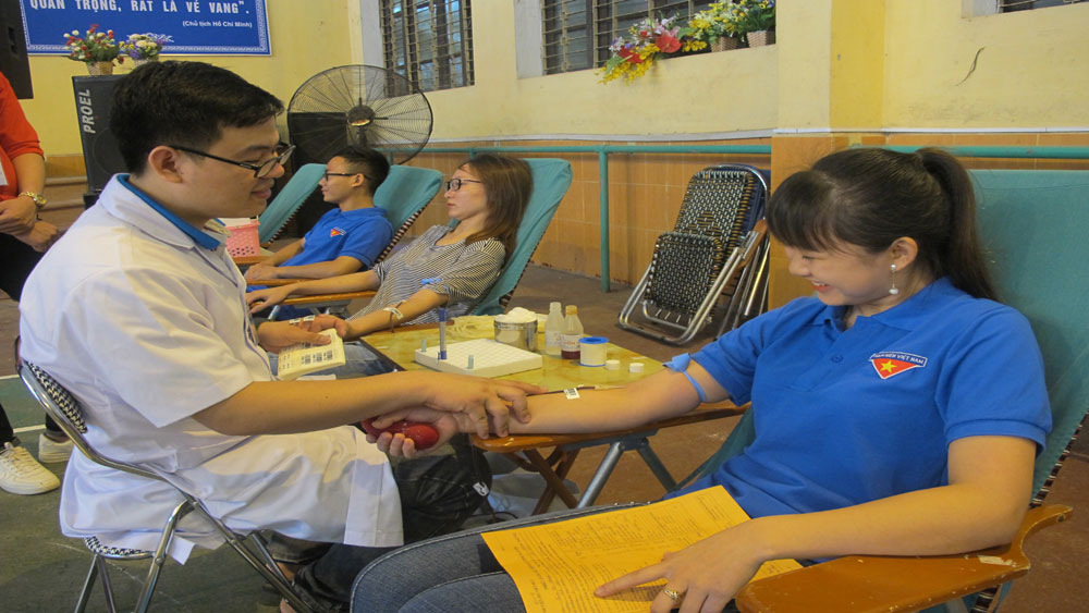 "Bac Giang launches ""Red Blood"" campaign in 2018 summer"