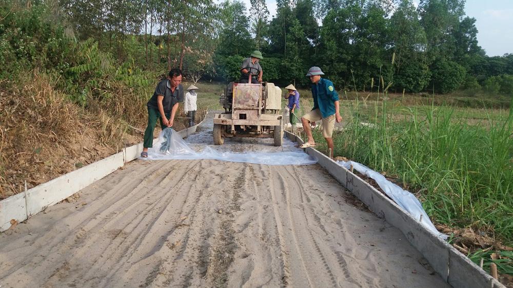 Hơn 14 tỷ đồng xây dựng nông thôn mới