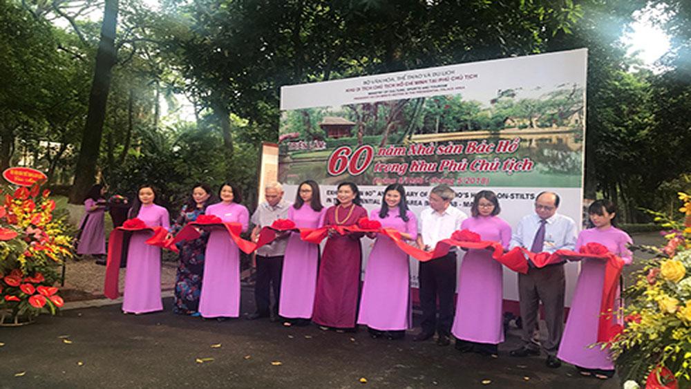 """Khai mạc triển lãm và hội thảo """"60 năm Nhà sàn Bác Hồ trong Khu Phủ Chủ tịch"""""""