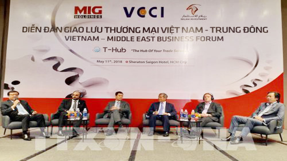 Vietnam, Middle East, trade and investment, trade forum, promising markets, Two-way trade, food and farm produce, great demand, biggest economic, trade partner