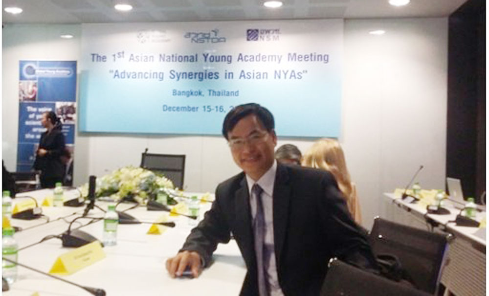 Vietnamese scientist, Global Young Academy, Tran Xuan Bach, highest votes,  young scientists, developing countries, international society