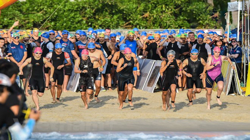 More than 1,600 triathletes to race in Da Nang Ironman