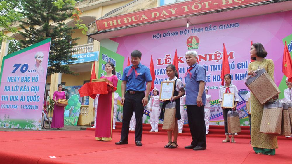Bắc Giang: Kỷ niệm 77 năm Ngày thành lập Đội TNTP Hồ Chí Minh