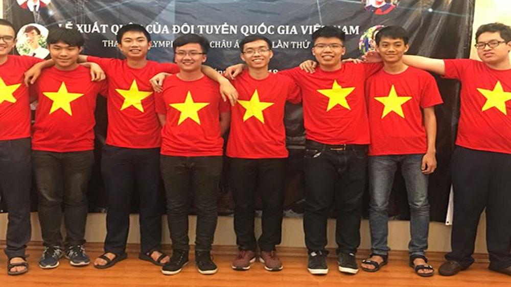 Việt Nam giành 4 HCV tại kỳ thi Olympic Vật lý châu Á lần thứ XIX