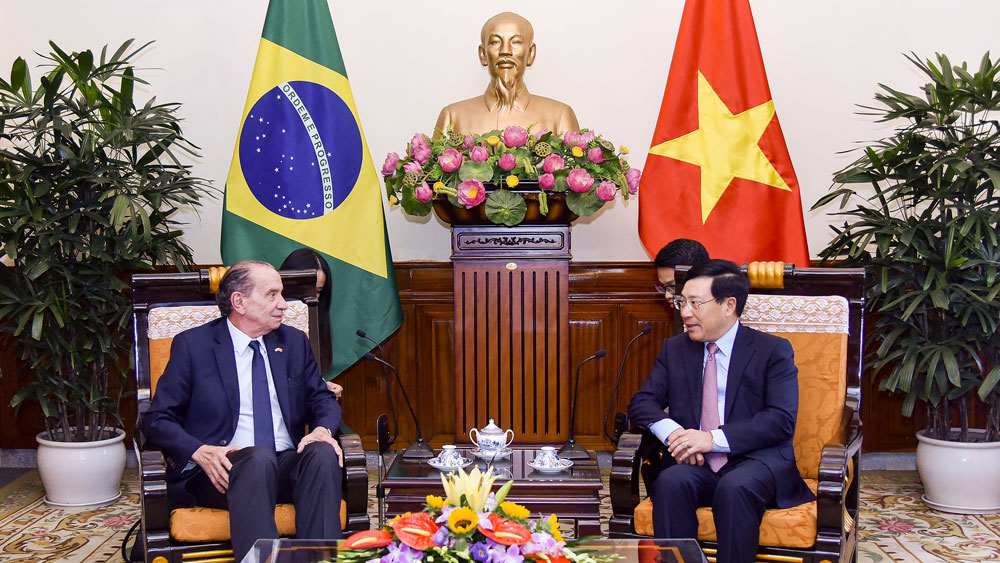 Vietnam hopes for enhanced cooperation with Brazil