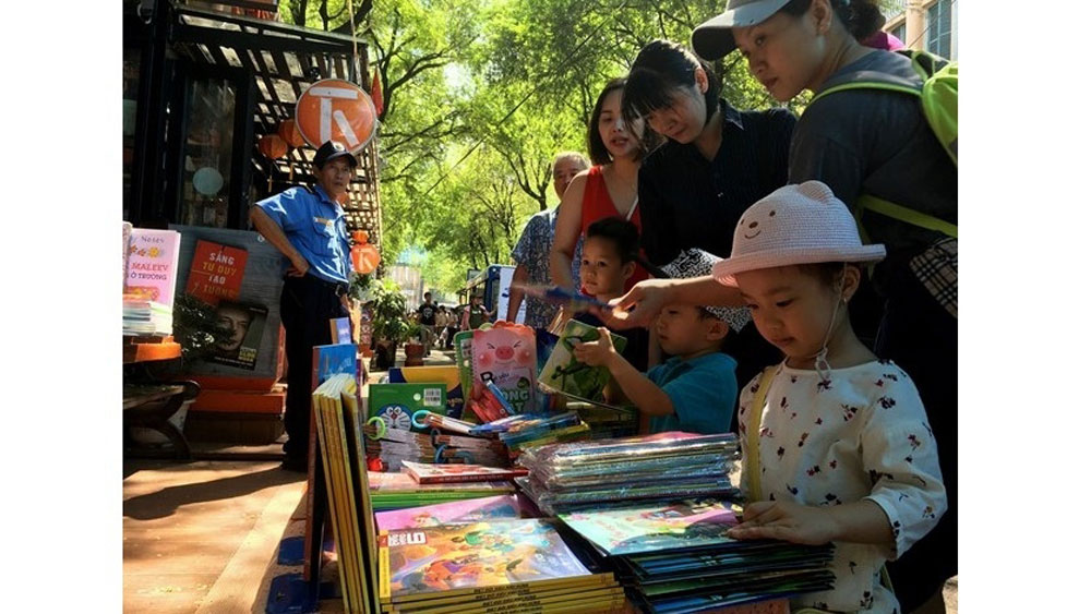 Various activities, European Book Days, HCM City, Book Street, local young people, literary works, common memories, better understanding