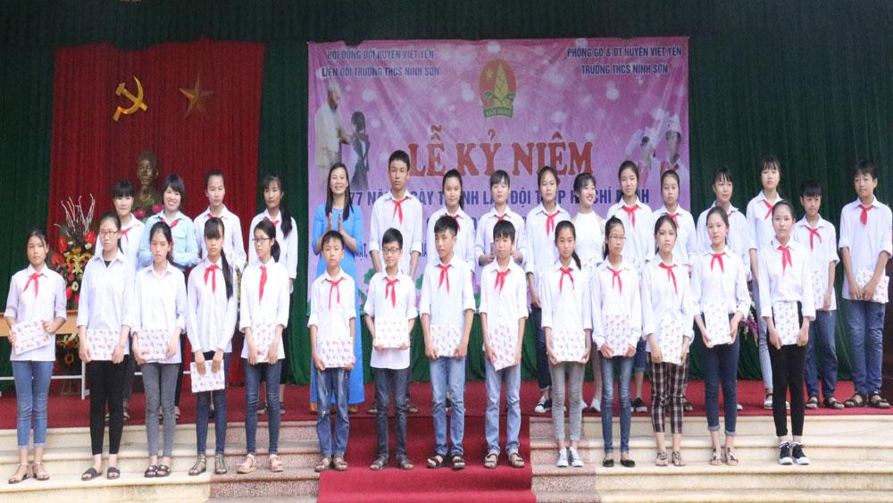Việt yên, kỷ niệm, hội đồng Đội
