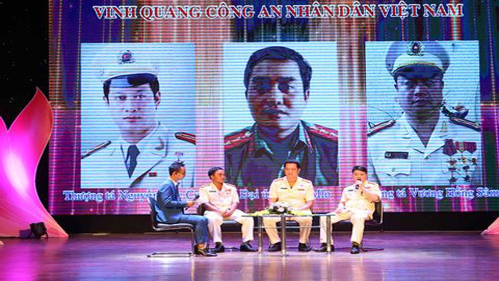 Tôn vinh điển hình tiên tiến trong lực lượng Công an nhân dân