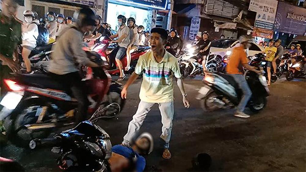 Bắt được một nghi can vụ đâm hai hiệp sĩ tử vong trên phố Sài Gòn