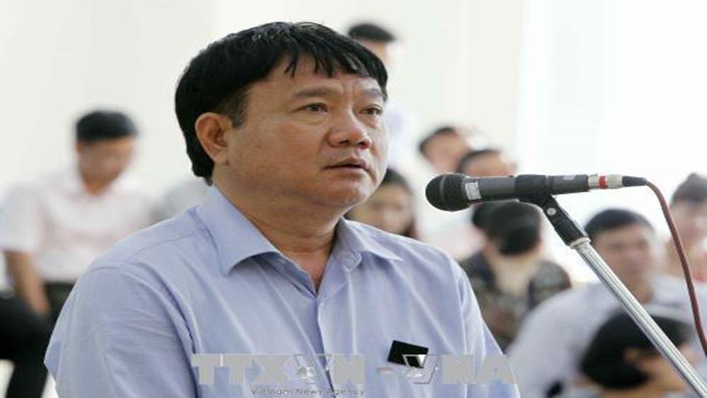 Xét xử phúc thẩm vụ án tại PVC: Y án sơ thẩm với bị cáo Đinh La Thăng
