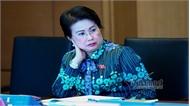 Thông qua Nghị quyết cho bà Phan Thị Mỹ Thanh thôi làm nhiệm vụ đại biểu Quốc hội