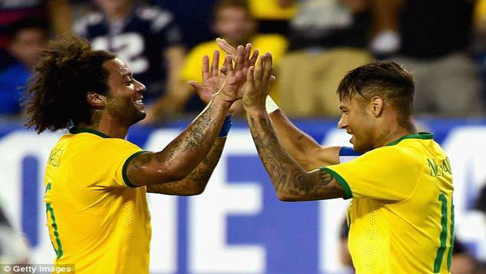 Đội tuyển Brazil chốt danh sách 23 cầu thủ dự vòng chung kết World Cup 2018