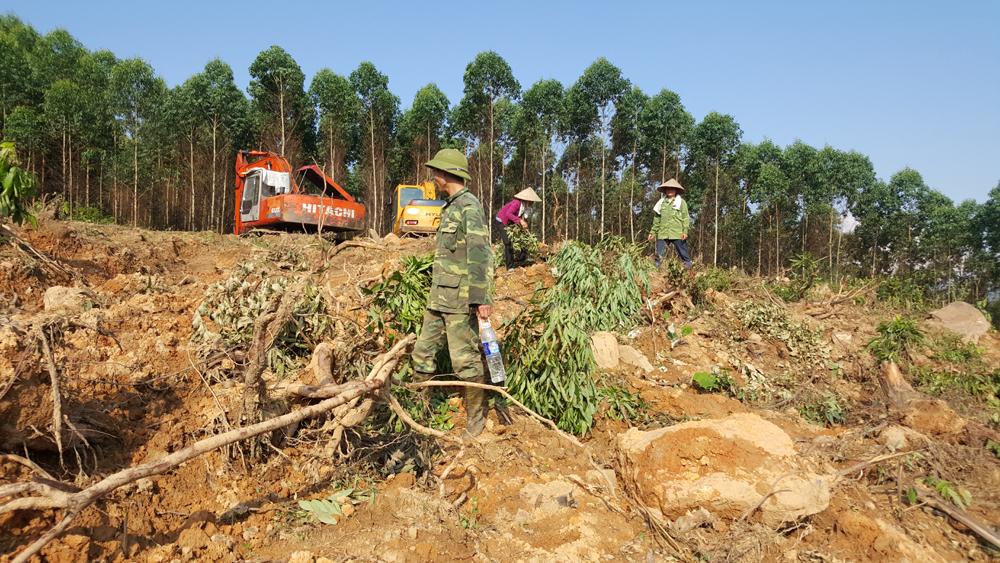 Vụ tranh chấp đất rừng, Lục Nam,  Chủ tịch UBND,  yêu cầu,  Trưởng Công an,  rút kinh nghiệm
