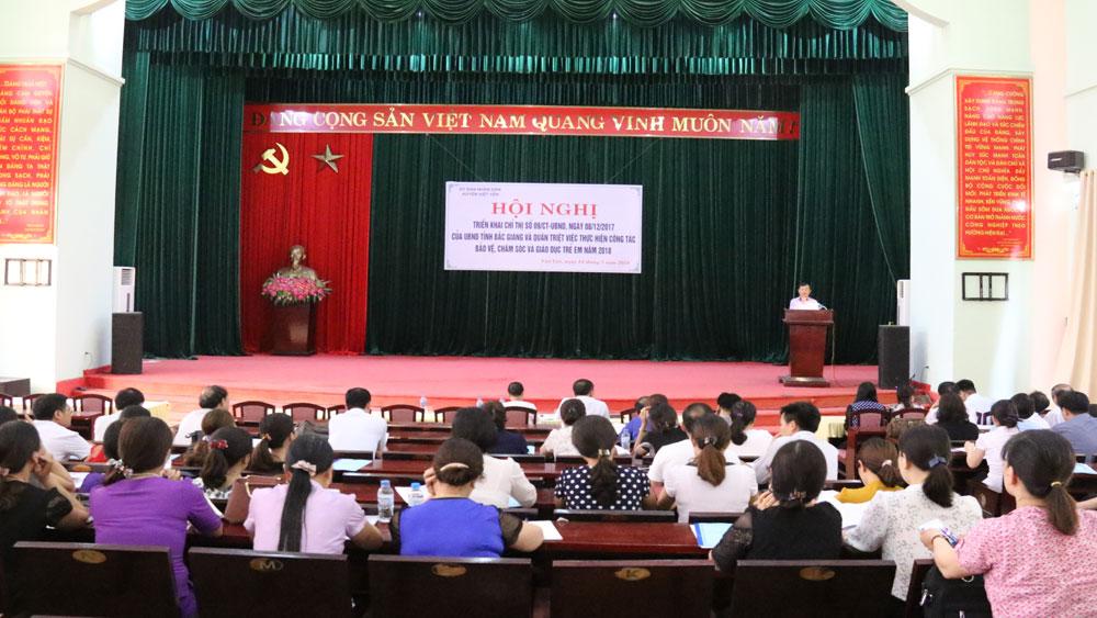 Việt Yên, hội nghị, tai nạn, bạo hành