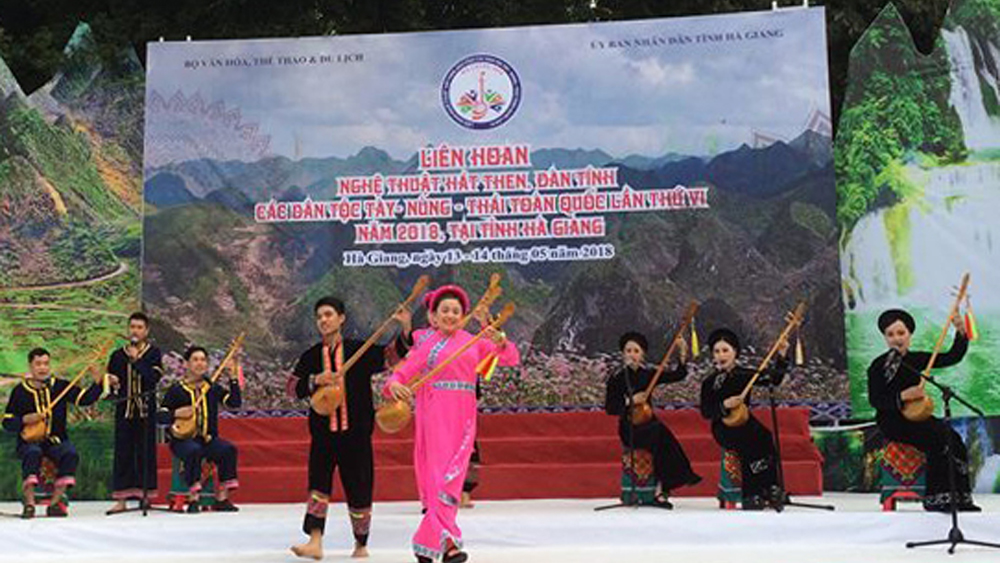 Bac Giang province, cultural heritage, Then singing, National Festival, Tay and Nung ethnic, Tinh gourd lute, Then rituals, weaving brocade, unique Then melodies