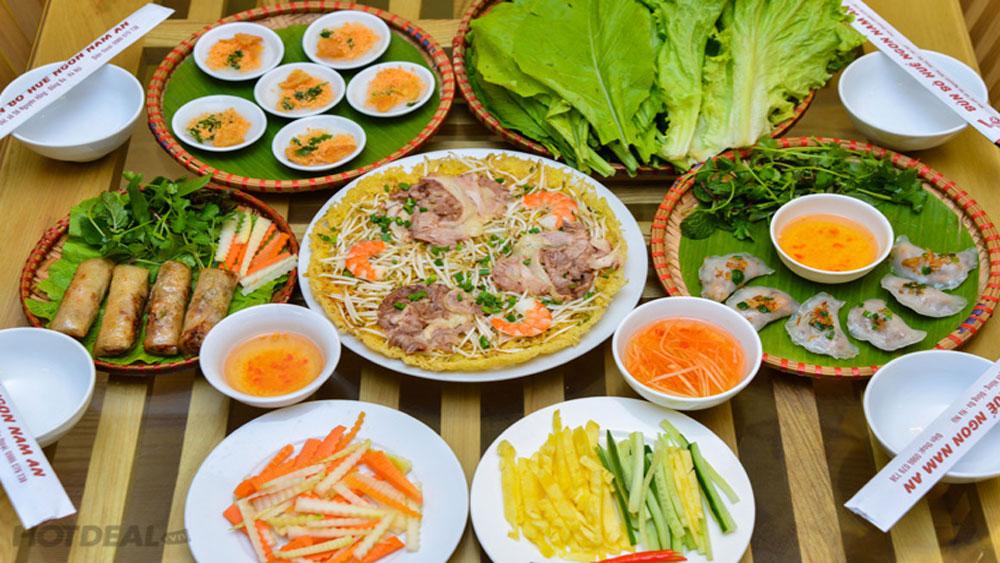 Xây dựng, thương hiệu Huế, Kinh đô, ẩm thực Việt