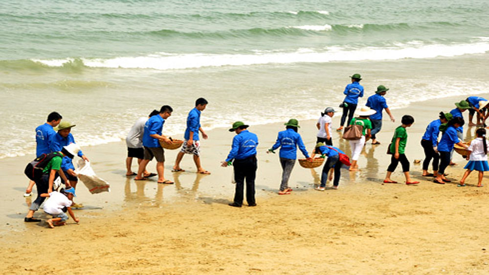 Chiến dịch, bảo vệ, môi trường, 'Biển Việt Nam xanh'